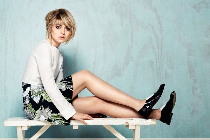 Download Imogen Poots English Actress Wallpaper Wallpaper For iPhone 4 ...