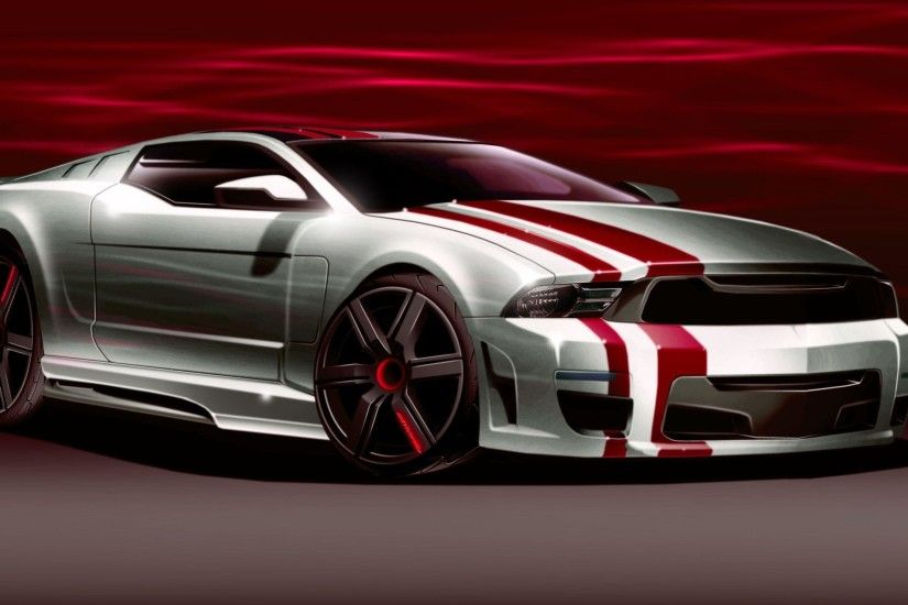 3D Ford mustang Supercar concept - Cool Car Wallpapers