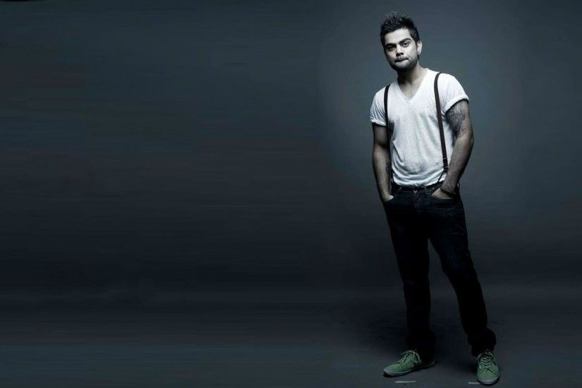 Virat Kohli stylish jeans and t shirt wallpapers | HD Wallpapers Rocks