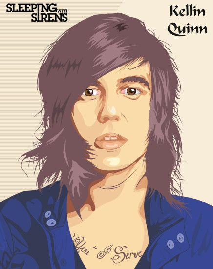 ... dicky10official Kellin Quinn from Sleeping With Sirens by  dicky10official