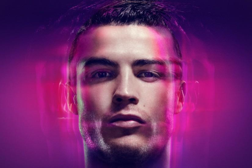 Preview wallpaper cristiano ronaldo, ronaldo, real madrid, cr7, face  1920x1080
