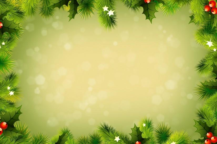 green christmas background 2560x1600 for full hd