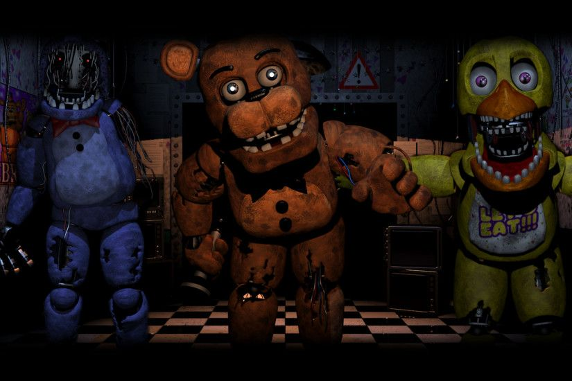 ... Old Gang ( Five Nights At Freddy's 2 Wallpaper) by BloodyHorrible