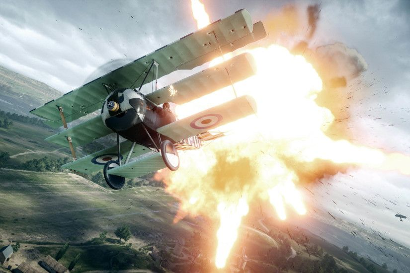 Battlefield 1 Fighter Plane 2560x1440 wallpaper