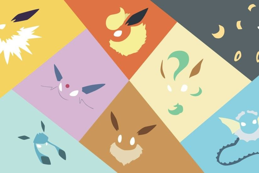 pokemon eeveelution wallpaper wallpapersafari