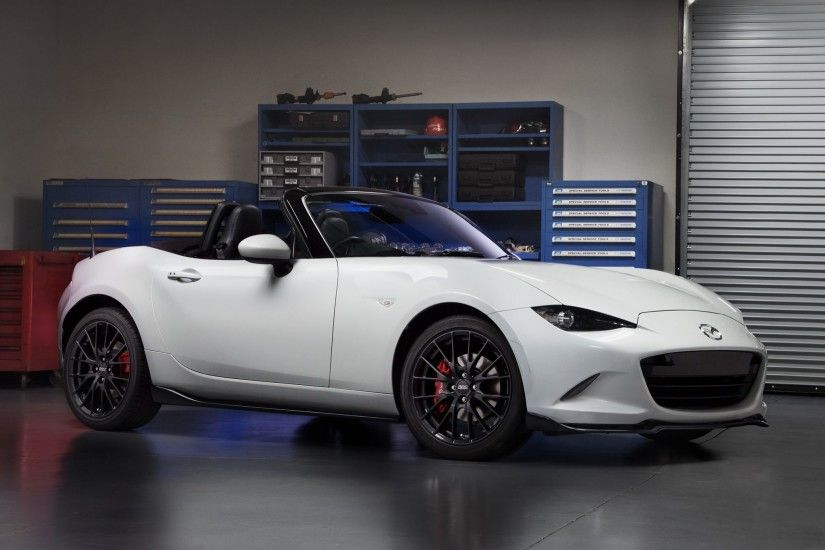 2016 Mazda MX 5 Miata Accessories Concept front three quarter