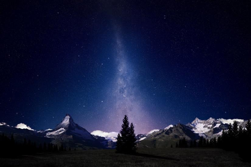 popular night sky wallpaper 2560x1600 for windows