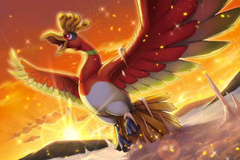 Image result for ho-oh wallpaper