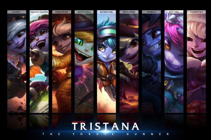 Tristana Wallpaper 1920x1080 by aldwin7894