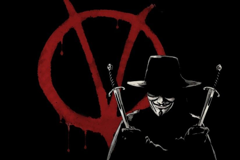 V For Vendetta Wallpaper Hd wallpaper