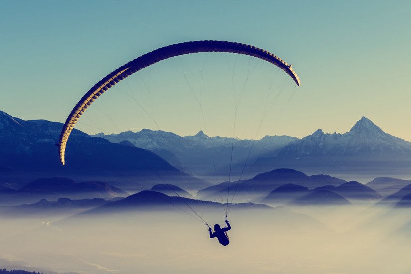 Awesome Parachute Wallpaper 43502