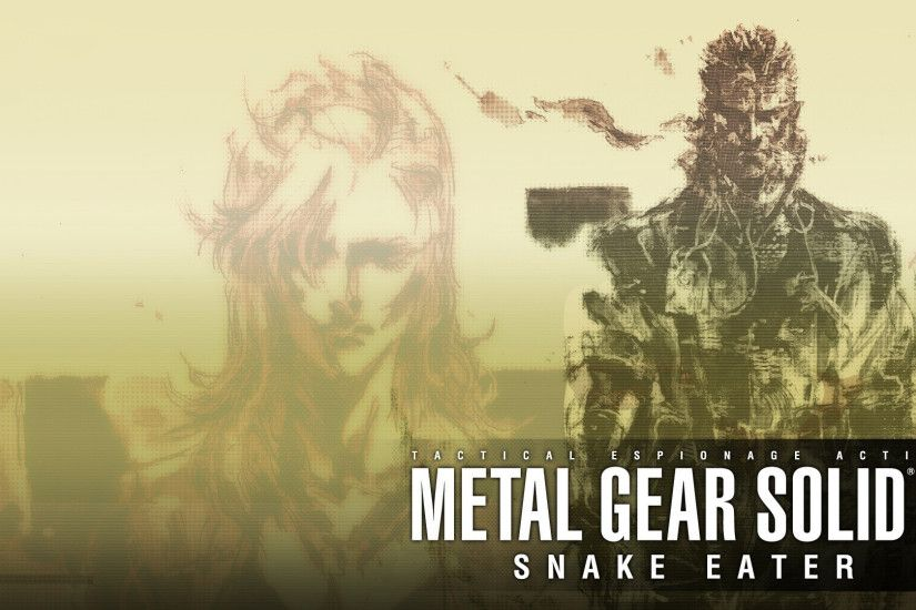 Metal Gear Solid 3: Snake Eater [1920x1080] ...