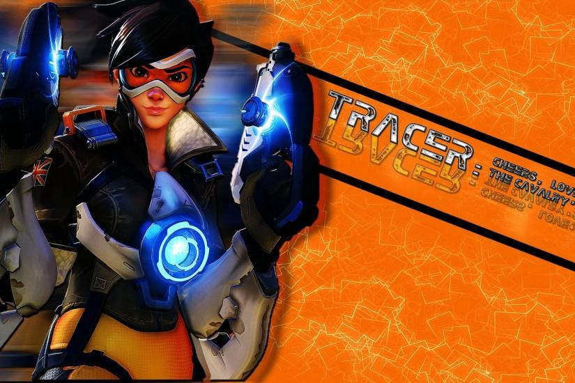 top overwatch tracer wallpaper 1920x1080