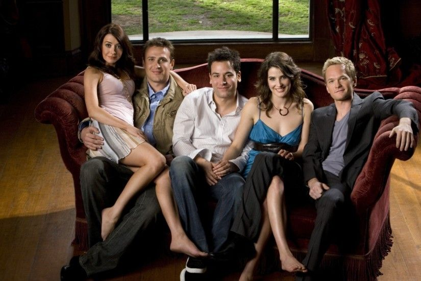 Preview wallpaper how i met your mother, ted mosby, robin scherbatsky,  marshall eriksen