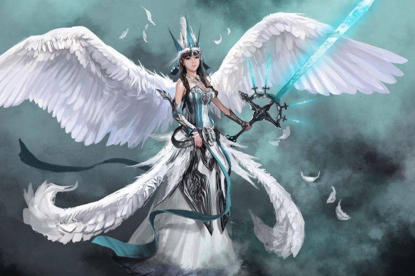 Angel Warrior Fantasy Hd Wallpaper