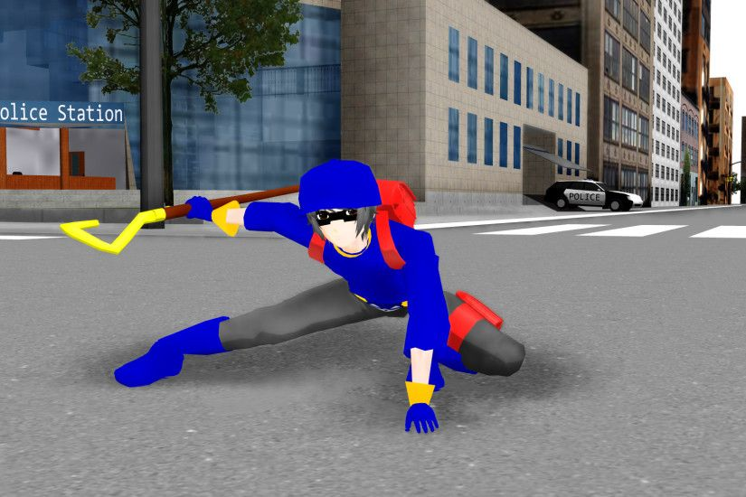 ... Human Sly Cooper MMD DL by slyfan1030