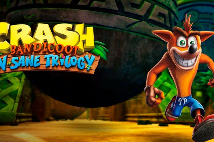 Crash Bandicoot N-Sane Trilogy Desktop Wallpaper (1920x1080)