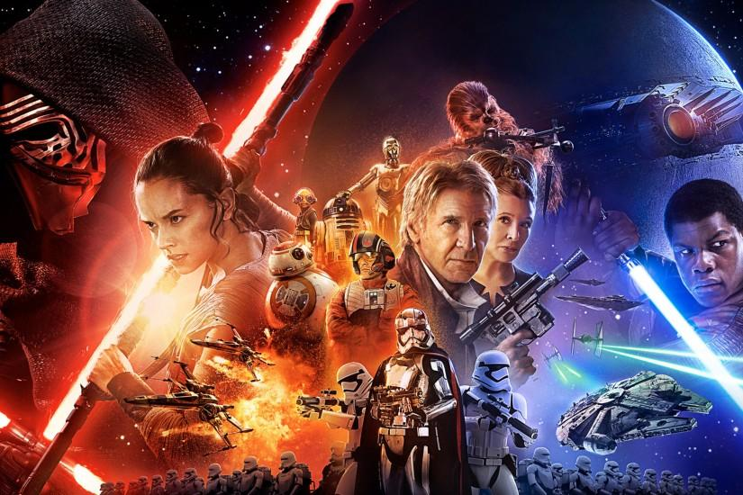 Star Wars The Force Awakens Wallpapers Full HD : Movies Wallpaper .