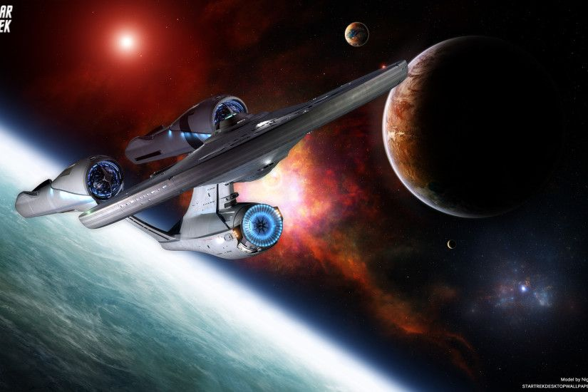 uss enterprise star trek 2009 wallpaper 129915