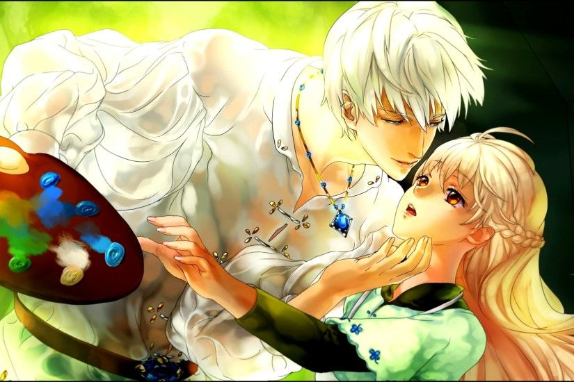 Anime Love Couple HD Wallpapers