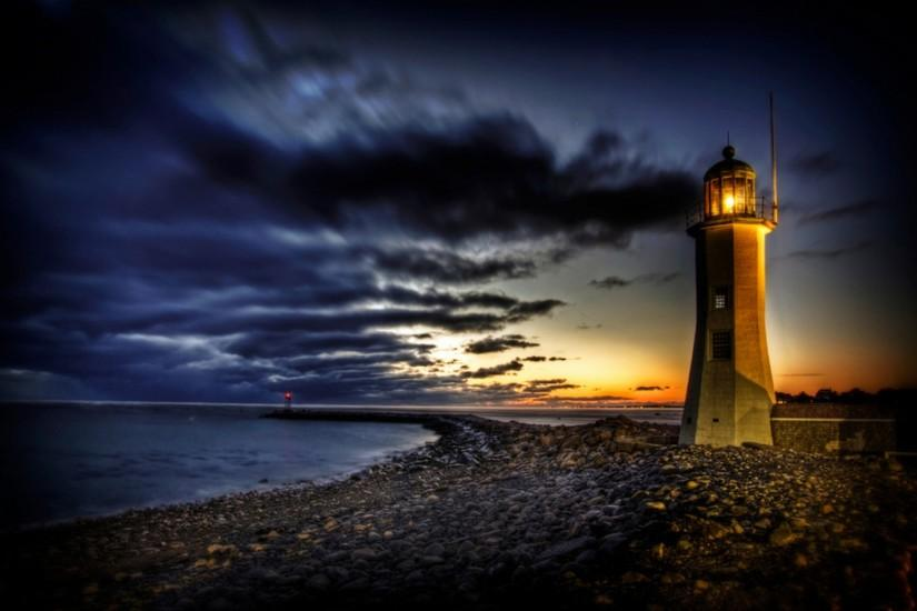 Free Lighthouse Desktop | DiyMid.com