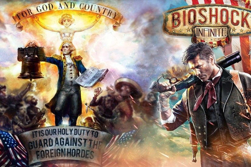 180 Bioshock Infinite HD Wallpapers | Backgrounds - Wallpaper Abyss - Page 3