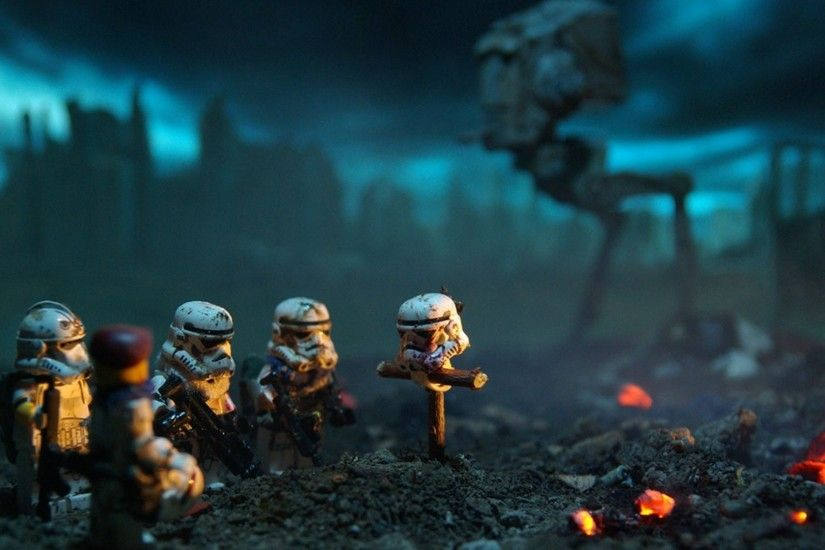 Funny Lego Star Wars Wallpapers by Thomas Gregory #9