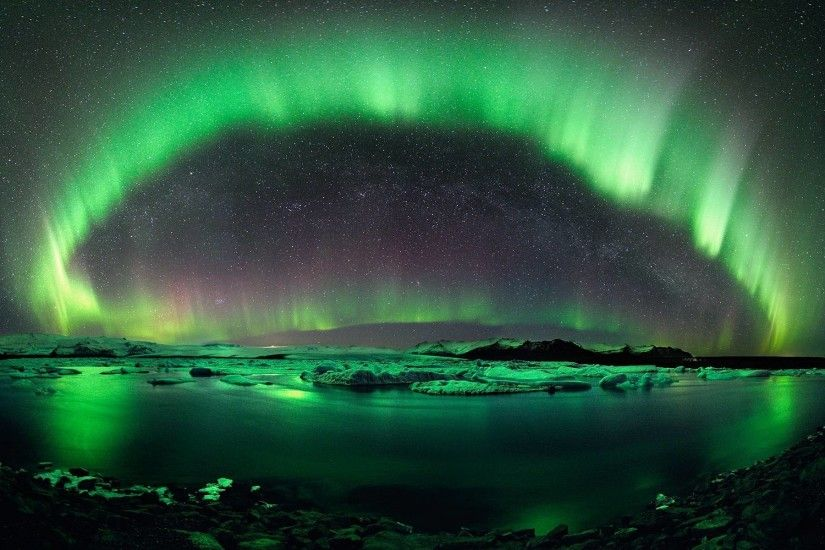 Iceland Northern Lights Wallpaper Images