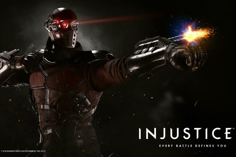 Deadshot. Wallpaper from Injustice 2