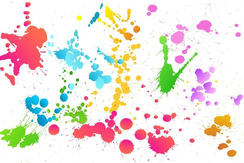 Paint Splatter Wallpaper 3727