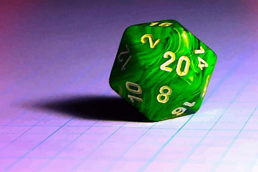I made thisMy faithful d20 ...