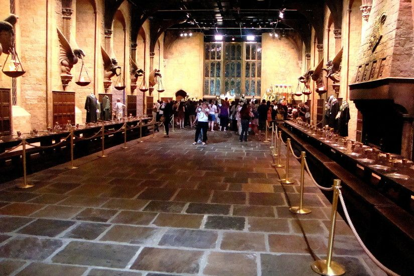 Harry Potter Great Hall Wallpaper