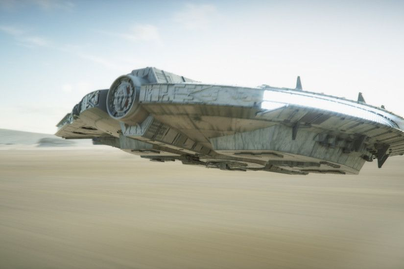 DesertRun Millenium Falcon by chaninja on DeviantArt