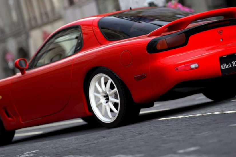 Mazda Red Rx 7 Wallpaper
