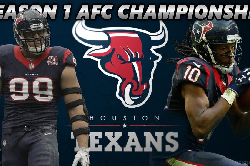 Madden 16 Houston Texans Franchise | Season 1 Playoffs AFC Championship vs.  The Jacksonville Jaguars