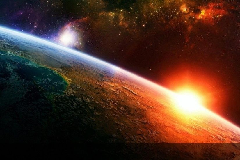 earth-cool-desktop-space-here-free
