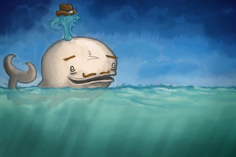 water animals fail funny whales moustache artwork drawings hats  anthropomorphism sea wallpaper