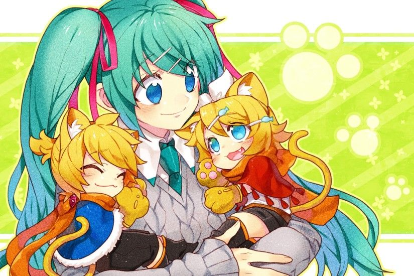 Vocaloid, Hatsune Miku, Anime Girls, Anime, Kagamine Len, Kagamine Rin  Wallpapers HD / Desktop and Mobile Backgrounds