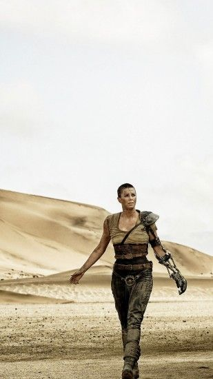 Movie Mad Max: Fury Road Imperator Furiosa Charlize Theron. Wallpaper 626434