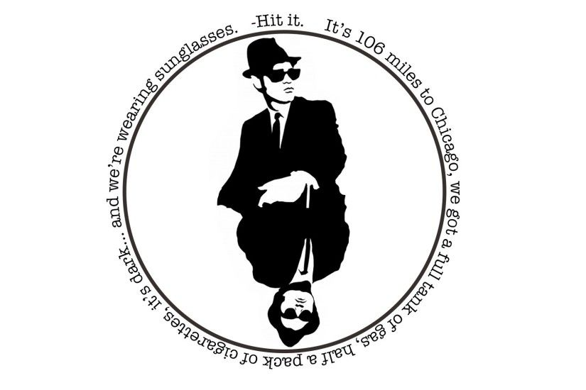 1920x1080 minimalism, Blues Brothers, Quote Wallpapers HD / Desktop and  Mobile Backgrounds