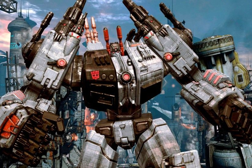 ... transformers: fall of cybertron ...