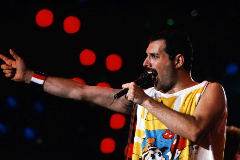 3840x2160 Wallpaper freddie mercury, singer, performance