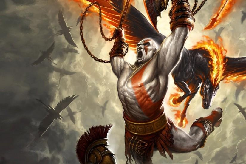 HD Wallpaper | Background ID:90727. 1920x1080 Video Game God Of War III