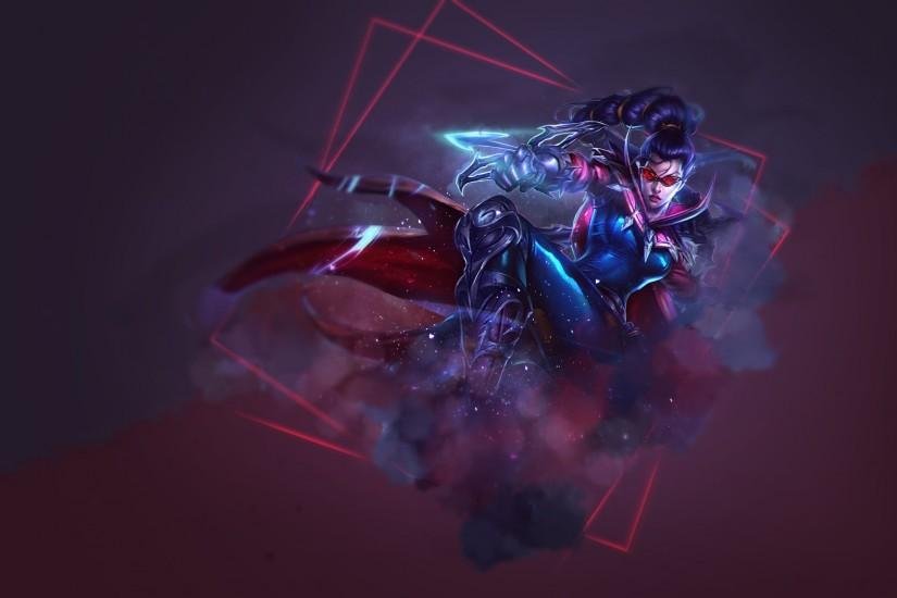League of Legends - Wallpaper - Vayne by SomeBeNNy