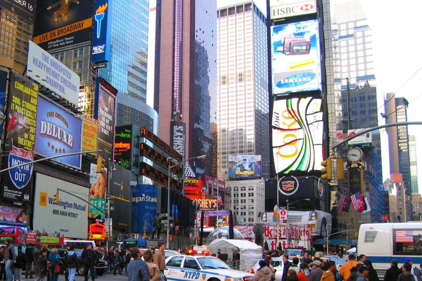 Times Square, New York City wallpaper - 824864