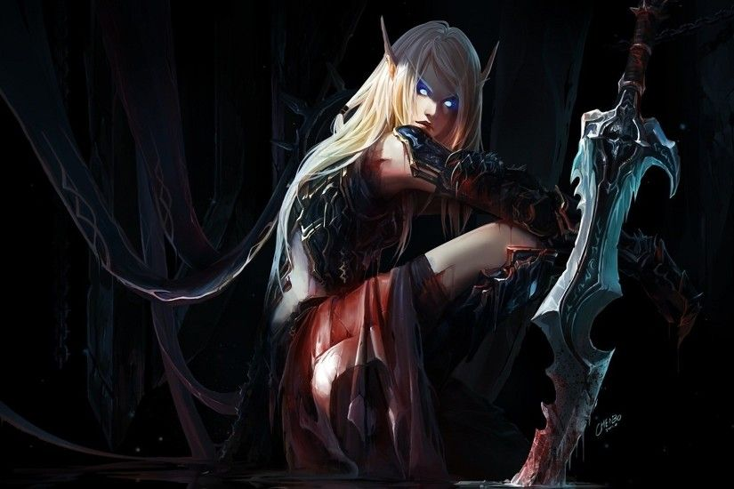 wow night elf female wallpaper | Wallpaper world of warcraft, chenbo, elf,  elf