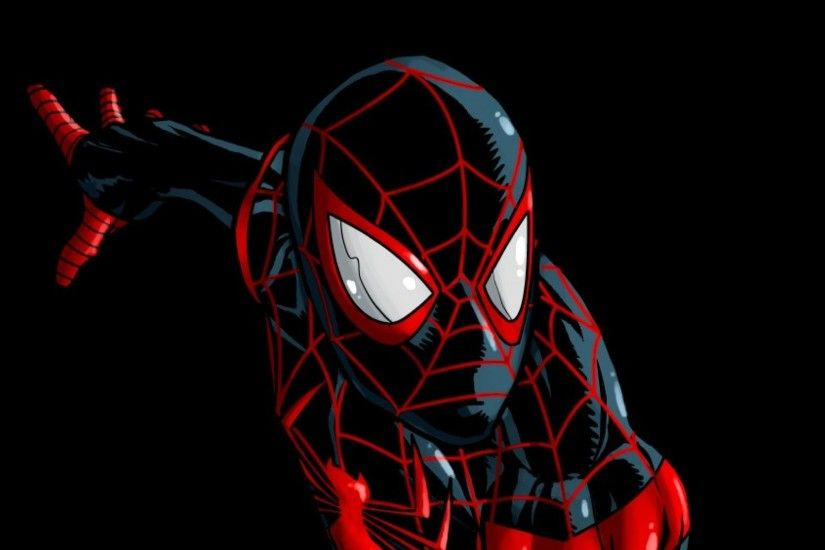 Comics spider-man superheroes marvel ultimate miles morales wallpaper .