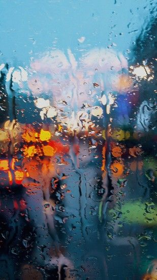 somedays rain window wet nature iphone 7 wallpaper