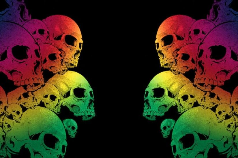 skull wallpapers colors. Â«Â«