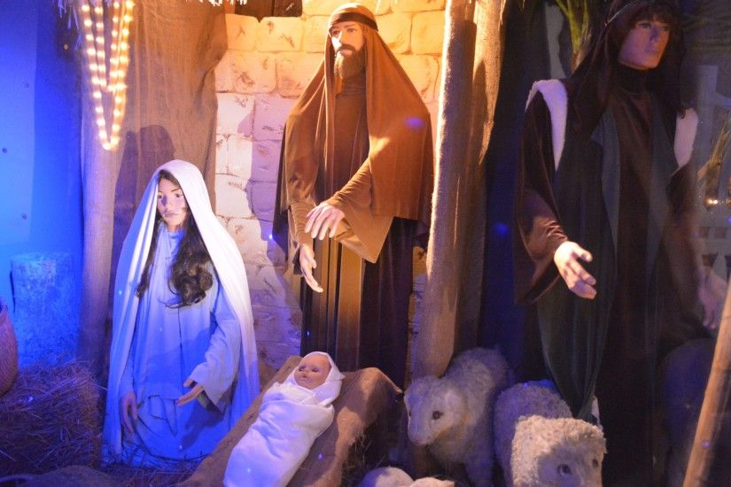 3 pictures that celebrates the Nativity scene at the Christmas holiday ·  Save the wallpapers from listed links at 4K, HD and wide sizes if you'd  like to ...